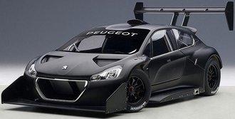 """2013 Peugeot 206 T16 """"Pikes Peak Race Car"""" Composite Plain Color Version (Black)"""