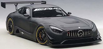 Mercedes-AMG GT3 Plain Color Version, Matte Black, Composite
