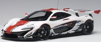 McLaren P1 GTR (Gloss White/Red Stripes)