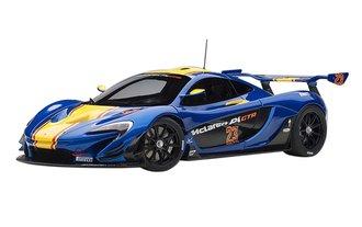 McLaren P1 GTR (Metallic Blue/Yellow Stripes)