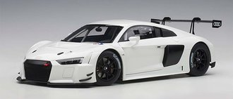 Audi R8 LMS Plain Color Version (White)