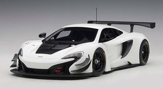 McLaren 650S GT3 (White/Black Accents)