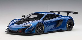 McLaren 650S GT3 (Azure Blue/Black Accents)