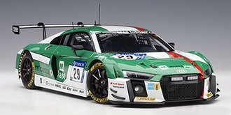 Audi R8 LMS 24HR Nurburgring 2017 Winner K.Van Der Linde/C.Mies.C.De Pillippi/M.Winkelock #29