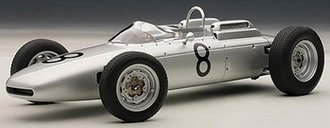 Porsche 804 Formula 1 1962 #8 Jo Bonnier Nurburgring 1962