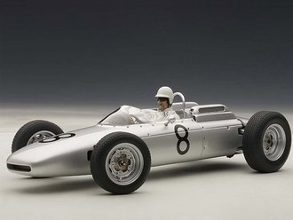 Porsche 804 Formula 1 1962 #8 Jo Bonnier Nurburgring 1962 w/Driver Figure