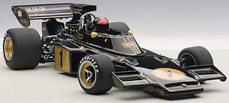 Lotus 72E 1973 Emerson Fittipaldi #1, w/Driver Figure in Cockpit, Composite