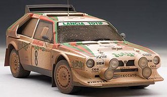 Lancia S4 Rally San Remo 1986 Cerrato/Cerri #8, Muddy Finish