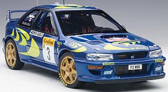 Subaru Impreza WRC 1997 #3, Colin McRae/Nicky Grist, Rally of Monte Carlo