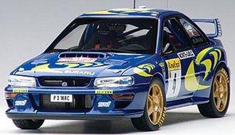 Subaru Impreza WRC 1997 #4, Piero Liatti/Fabriziapons, Rally of Monte Carlo