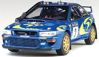 Subaru Impreza WRC 1997 #3, Colin McRae/Nicky Grist, Rally of Safari
