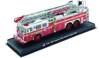 "Seagrave Rear Mount Ladder ""FDNY Ladder Co. #43, 2001"""