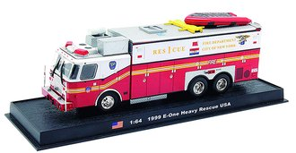 "E-One Heavy Rescue ""FDNY Rescue Co. #1, 1999"""