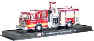 """Pierce Dash Top Mount Pumper """"Engine 12, Wichita Fire Department, 2006"""""""