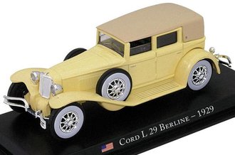 1929 Cord L-29 Berline (Light Yellow)