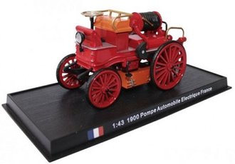 "1:43 1900 Electric Fire Pumper ""France"""