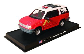 "1997 Ford Explorer XLT ""Philadelphia Fire Dept."""