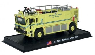 "2003 Oshkosh Airport Rescue & Firefighting (ARFF) Truck ""MacArthur Airport, Long Island, NY"""