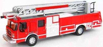 "1:87 2005 E-1 HP 75 Fire Ladder Truck ""United States"""