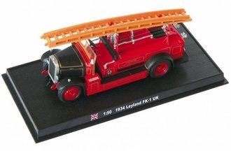 "1934 Leyland FK-1 Fire Truck ""Worcester, England"""