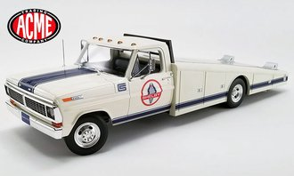 "1:18 1970 Ford F-350 Ramp Truck ""Shelby Racing"""