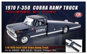 "1:18 1970 Ford F-350 Ramp Truck ""COBRA"""