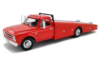 1:18 1967 Chevrolet C-30 Ramp Truck (Red)