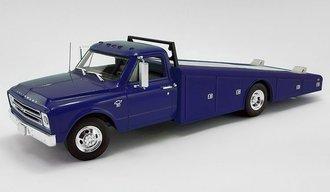 1:18 1967 Chevrolet C-30 Ramp Truck (Blue)