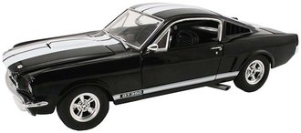 1:18 1965 Shelby GT 350 (Black w/White Stripes)