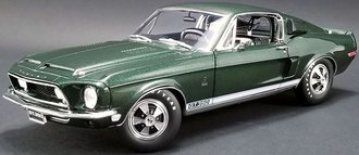 """1:18 1968 Shelby GT350 """"Rent A Racer"""" (Dark Green Poly)"""