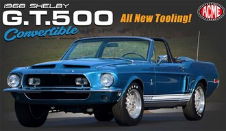 1968 Shelby GT500 Convertible (Acapulco Blue)