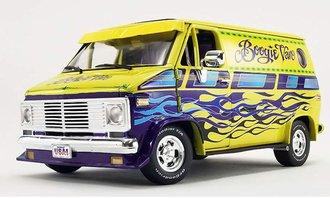 """1976 Chevrolet G-Series Van """"Boogie Van"""" (Yellow w/Flames)"""