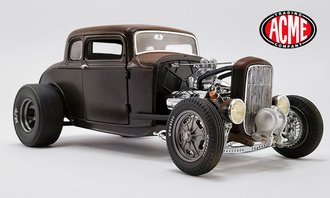 <$> 1:18 PorkChop's 1932 Ford '190 Proof' Hot Rod