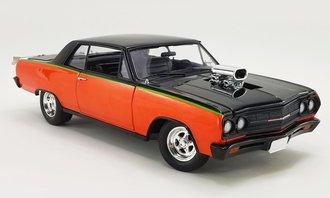 """1965 Chevrolet Chevelle SS """"Drag Outlaw"""" (Orange/Black)"""