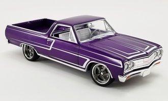 1:18 1965 Chevrolet El Camino Custom Cruiser (Metallic Purple)