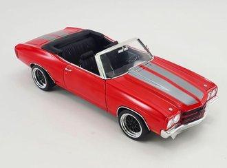 1:18 1970 Chevrolet Chevelle SS Convertible Custom (TBD)