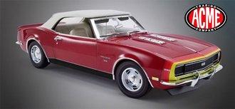 "1:18 1968 Chevrolet Camaro SS Convertible ""Unicorn"""