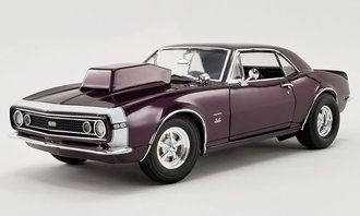 "1:18 1967 Chevrolet Camaro SS ""Drag Outlaws"" (Purple Haze)"