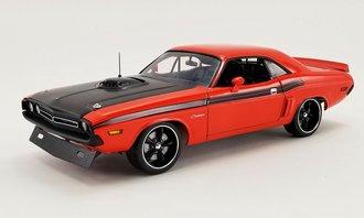 """1971 Dodge Challenger R/T Street Fighter """"Fireball"""" (Hemi Orange)"""
