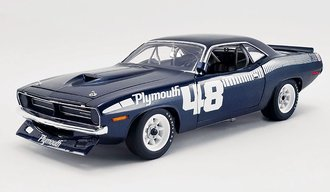 "1:18 1970 Plymouth Trans Am Cuda ""#48 Pilot Car"""