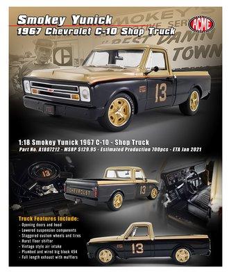 "1:18 1967 Chevrolet C-10 Shop Truck ""Smokey Yunick"""