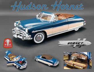 1:18 1952 Hudson Hornet (Admiral Blue/Boston Ivory)