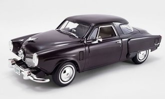 1:18 Studebaker Champion (Black Cherry)