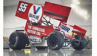 """1:18 2021 Sprint Car """"#55 Valvoline/ Alex Bowman Racing - C.J. Leary"""""""