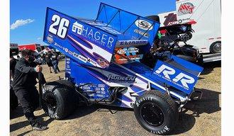 "1:18 2021 Sprint Car ""#26 Hager Realty/ Rudeen Racing - Cory Eliason"""