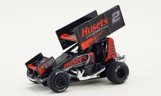 "1:64 2021 Sprint Car ""#2 Big Game Motorsports - David Gravel"""