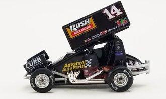 """1:64 2021 Sprint Car """"#14 Advance Auto Parts - Tony Stewart"""""""