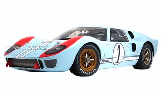 """1:12 Masterpiece Collection #1 Ford GT-40 MKII """"Ken Miles-2nd Place at 1966 24 Hours of Le Mans"""""""