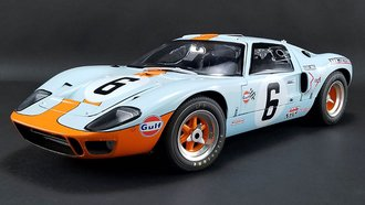 "1:12 Ford GT-40 ""Gulf Oil #6, 1969 Le Mans Champion"""