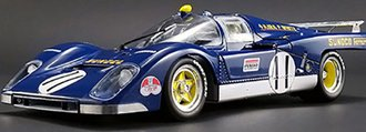 "1:18 1971 Ferrari 512M ""#11 Sunoco, Mark Donohue, 1971 24 Hours of LeMans"""